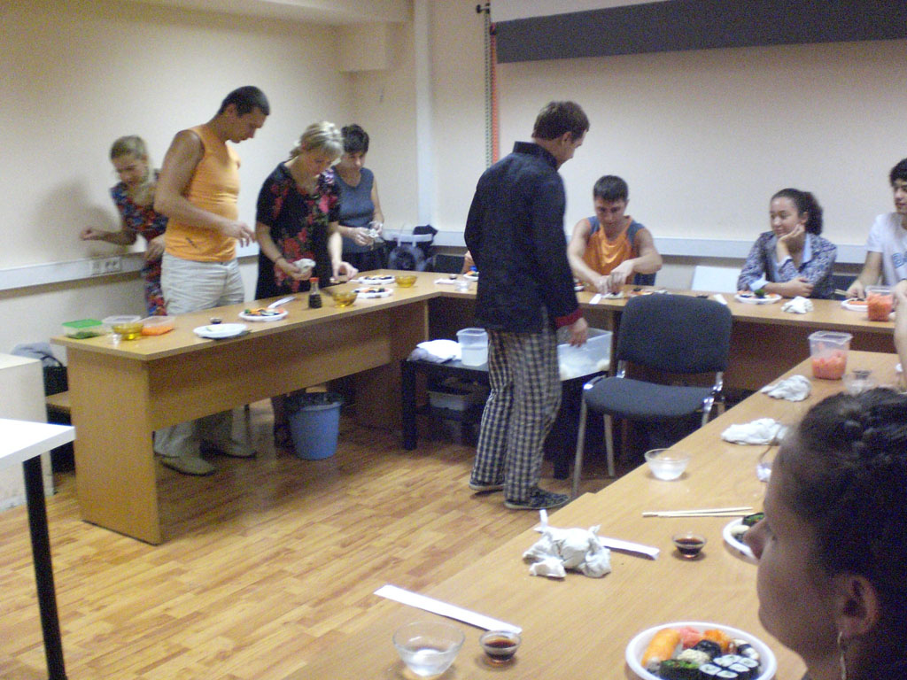 мастер-класс суши
