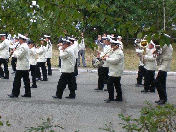 оркестр на день ВМФ
